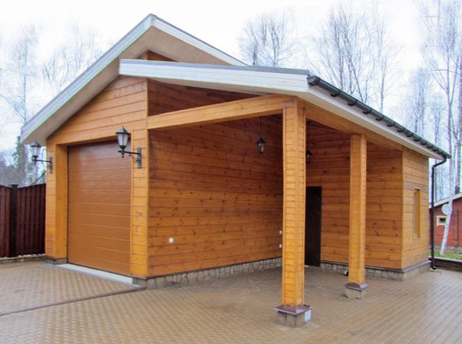 Проект каркасного гаража
