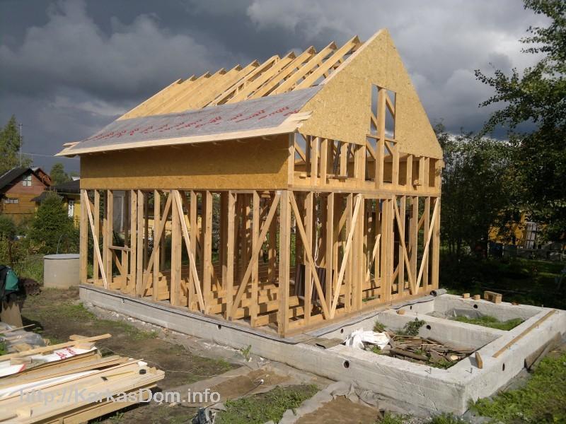 Пошаговые строительства дома от фундамента до крыши
