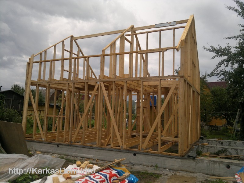 Строительство домов своими руками фото