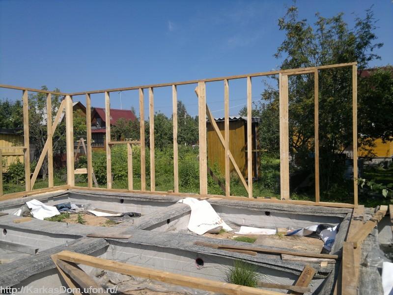 Строим каркасный дом своими руками поэтапный показ 201