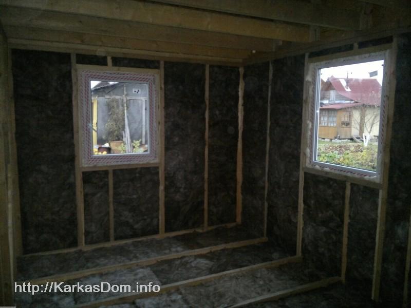 Одноэтажный каркасный дом своими руками проекты